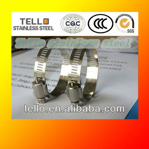 stainless steel tube clip