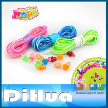 DIY Knit Plastic PVC Strings Scoubidou for Kids