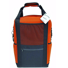 Leakproof Sweatproof Backpack Cooler Adjustable padded shoulder Nylon Series Backpack Orange
