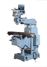 Metal manual turret milling machine 4S/4SA with power feed