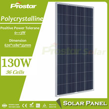 high quality pv solar module poly 130w solar panel