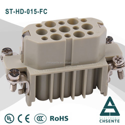 HD series screw terminal electrical wire male and female power supply connector
