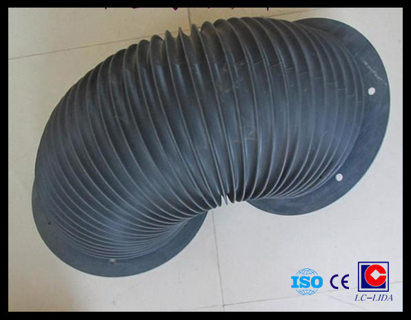 cylinder type protective bellow cover