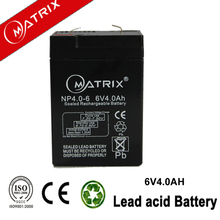 vrla agm storage battery 6v4ah sealed maintenance free battery cheap solar system bag