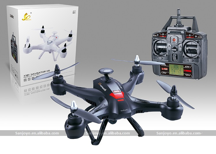 Hold hover function drone 5 inch monitor similar brushless HD 2MP camera X181 drone with camera