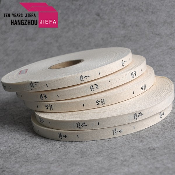 High Quality Recyclable Custom Cotton Ribbon White