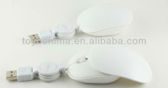 Sliding optical mouse with scrolling line
