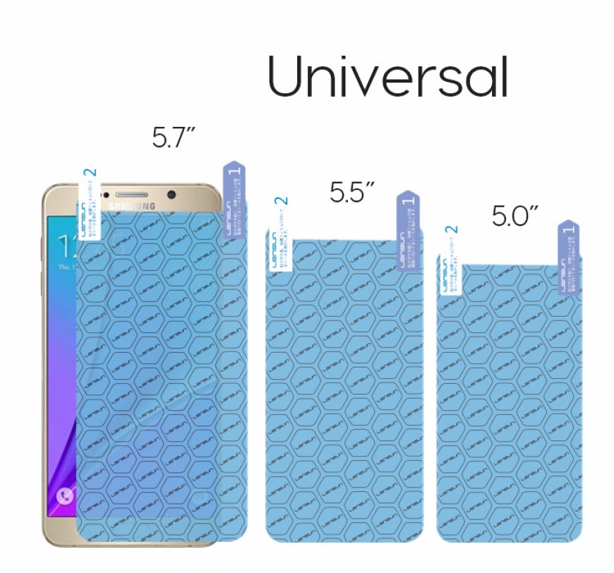 LENSUN Nano Soft Explosion-proof Durable Universal Mobile Phone Screen Protector