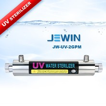 2 GPM 304 stainless steel uv lamp water sterilizer