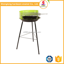 High quality foshan professional commercial bbq grill used bbq equipment with three iron stand