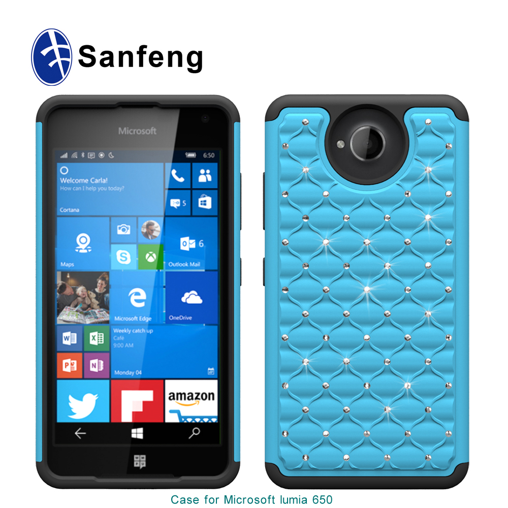 2015 new arrival telephone shockproof for NOKIA Lumia Microsoft 650 850 mobile phone case