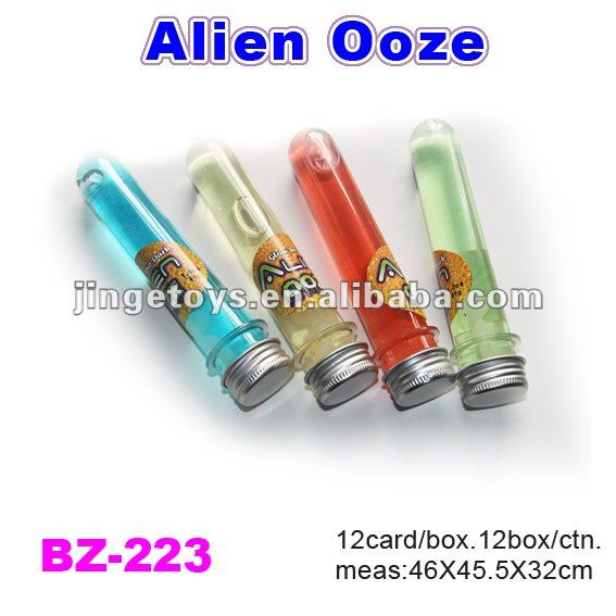 Test tube slime alien toy