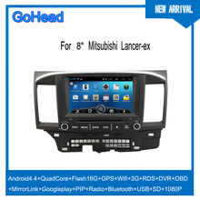 For Mitsubishi Lancer-ex USB 3g Wifi GPS DVD Radio FM Bluetooth Android 4.4 Car Mp3 Player
