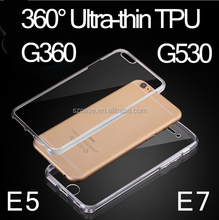 High quality 360 degree case tpu case for Samsung Galaxy Grand Prime G360 g530