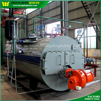 Factory reasonable price best seller 0.5-20t/h gas and oil fired steam boiler