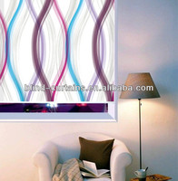 2015 the latest fancy window curtain for roller design