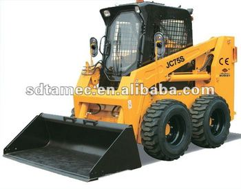 JC75S skid steer loader,china bocat,engine power 75hp,loading capacity 1050kg