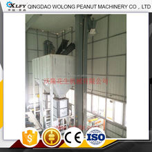 Vertical chain transmission lifting machine system