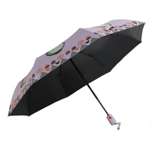 Custom auto open straight excellent foldable promotion kids umbrellas