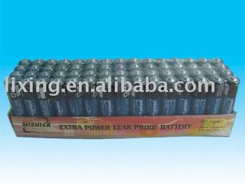 Nishica AAA carbon zinc battery