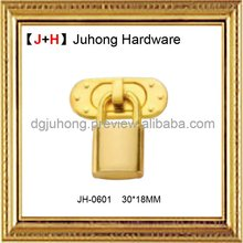 Fashion handbag decorative lock and key