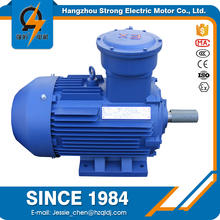 High voltage yb2 series 55KW explosion proof ac induction column planner motor