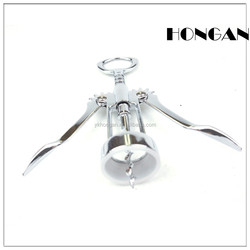 Factory Direct Sale! Wholesale Competitive Zinc Alloy Corkscrew Small Amount Champagne Wine Opener