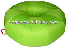 420D oxford with pvc coated donut beanbag
