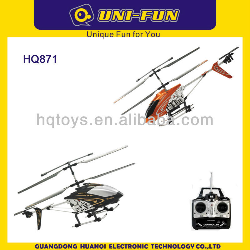 Hot HQ871 Huanqi 3 ch rc helicopter with camera