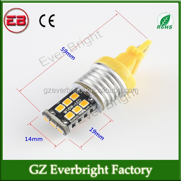 12V/24V Newest T25 car led canbus light/T10 T25 3156/3157 2835 led Can-bus No Error Free Led Turning Light Backup Reverse Lamps