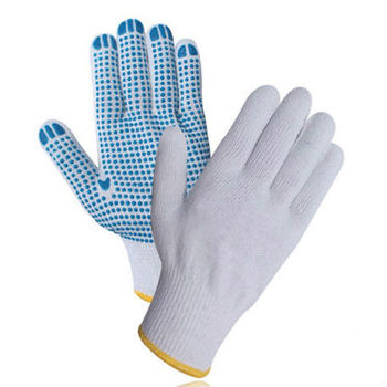 Buy Economic PVC Dotted Gloves
