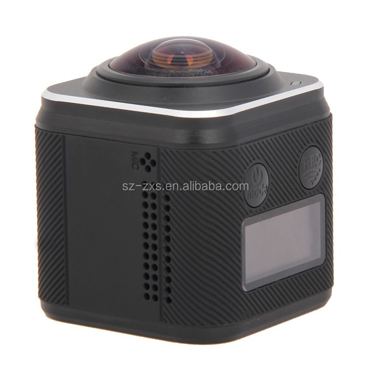 ZXS-360D 4k 360 Panoramic Action camera Full HD 360 VR Camera WIFI VR 3D go pro copied 360 Sports Camera