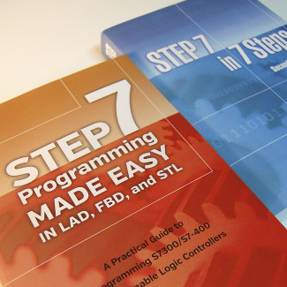 Siemens STEP 7 PLC Books Combination: STEP 7 Programming Made Easy & STEP 7 in 7 STEP