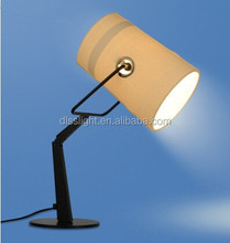 modern ivory fabric decorative table lamp