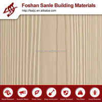 fireproof Wood Grain Siding Board exterior decoration