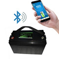 Bluetooth original 12V 100Ah LiFePo4 rehcargeable battery pack