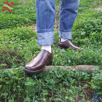 Cheap men shoes stock handmade soft leather men shoes