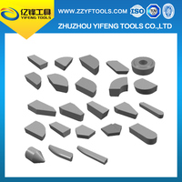 Supply high quality indexable turning tool inserts brazed tips