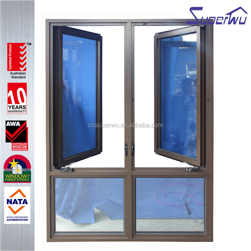 America style chain winder casement windows supplier with philippines price