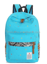 Vintage Women Girls Canvas Satchel School Backpack Travel Bags Bookbag Rucksack Bags