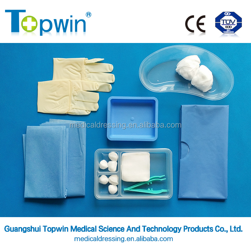 Surgical Catheterization Set, high quality minor surgical dressing set