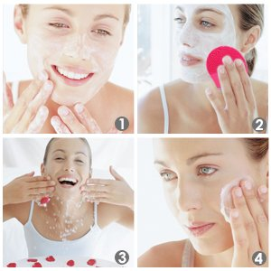 Sonic Electric Facial Cleansing Brush Waterproof