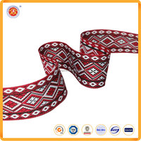 Luxuriant trimming ribbon jacquard ribbon manufacturer in china