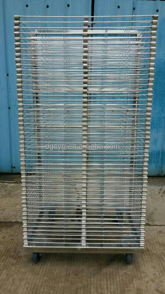 Stainless Steel Mesh Drying Rack with ESD PE Form for PCB Board