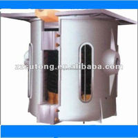 scrap aluminum melting electric induction furnace for casting