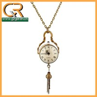 Japan movt quartz pocket watch wholesale alibaba, necklace pocket watch women