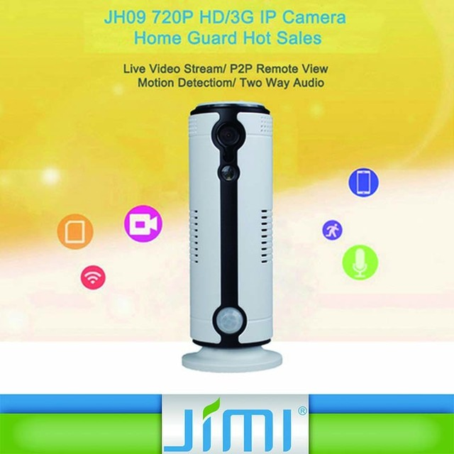 Low Cost Home Security Wireless Network Camera 3G GSM IP Camera Dome