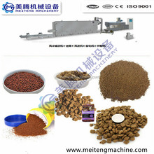 Fully Automatic Dry Pet Dog Food Pellet Making Extrusion Machine