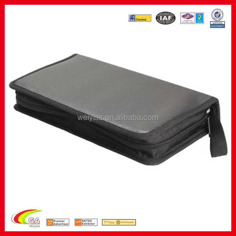 New Portable 80 Disc CD VCD DVD Storage Bag Wallet Holder Case Box