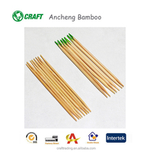 Food picks bio disposable individual wrapped bamboo wooden toothpick